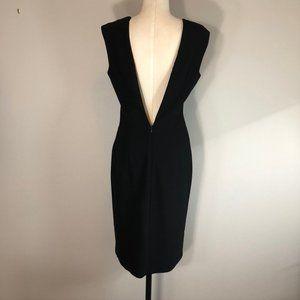Zara Basic Little Black Dress with Deep V-Back